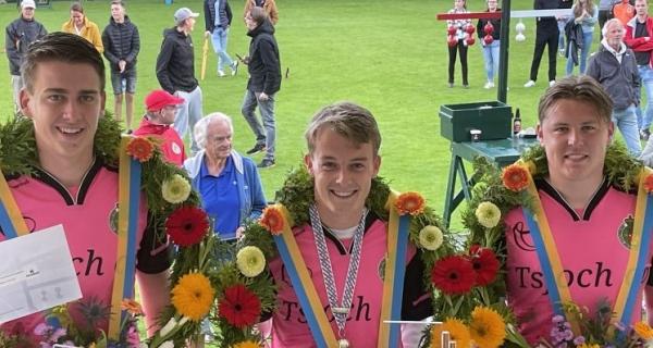 René de Haan koning Juniorencompetie 2021